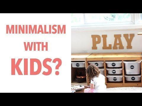 Minimalism With Kids Am I A Real Minimalist House Tour Peek Baby